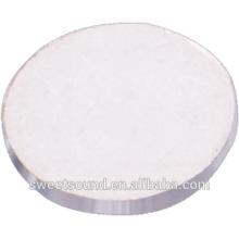 Dia 10 mm 2 mhz PZT disco de disco de cerámica micro piezo