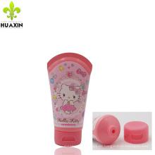 Kosmetik-Verpackungsetikett mit Flip-Top-Verschluss und Verpackung