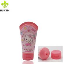 Etiqueta de embalaje de cosméticos con tapa superior y embalaje