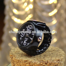 Beaucoup de couleurs Ring Watch Metal Ring Watch Design for Student Wholesale JZB007