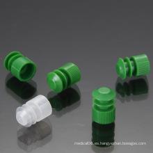 12mm Dia. Tapón de enchufe de brida de plástico para tapones de tubo