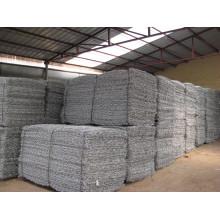 Heißer Verkauf verzinkter sechseckiger Gabion-Kasten (direkte Fabrik)