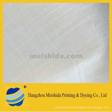 55/45 Tecido misturado de algodão de linho