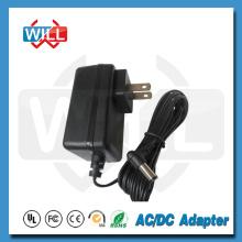 Entrada de 100v a 240v 47 a 63 Hz Adaptador de alimentação dos EUA