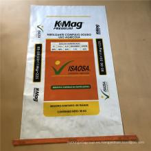 bolsa de embalaje de fertilizante orgánico