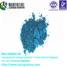 Turkish blue color changing pigment blue purple color changing pigment