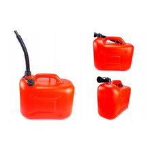 Vehicle Tools Automotive Tools Handy 10L Plastic Fuels And Lubricants Container Cans Gasoline Oil Tank For Car