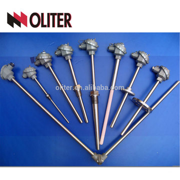 oliter hot blast new with compensational wire stove dome high-temperature thermocouple with conduit head cable