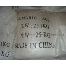 Pass ISO Certificate of Manufacture of 99.5% Fumaric Acid