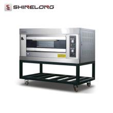 2017 Shinelong Hot Sale K266 1-Layer 2-Tray Oven Manufacturers Panaderias Horno de gas al aire libre