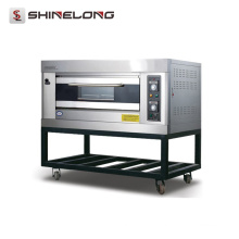 2017 Shinelong Hot Sale K266 1-Layer 2-Tray Forno Fabricantes Padarias Outdoor Gas Forno