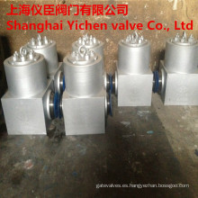 Sello de presión forjadas acero válvulas de retención
