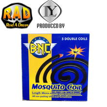 BNC Grande taille China Chemical Environmental Friendly Micro-Smoke Mosquito Coil