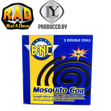 BNC Big Size China Chemical Environmental Friendly Micro-Smoke Mosquito Coil