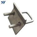 Venda quente Material de Construção de Zinco Galvanizado u braçadeira de tubo de parafuso, u parafuso grampos, u parafuso