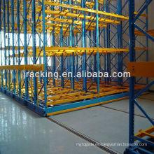 Jiangsu Jracking almacenes estantes móviles estándar