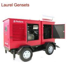 Générateur de remorques à moteur diesel à faible bruit 150-500kw