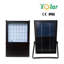 Wasserdichte led solar betriebene Flutlichter, led solar Außenleuchte mit Timer, solar-Sicherheits-Licht