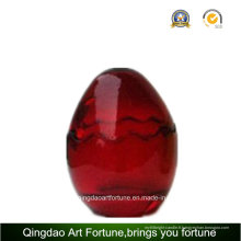 Pot de verre de forme oeuf pour Pâques jour Home Decor
