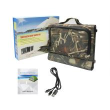15W Горячее продавая водоустойчивое портативное солнечное заряжатель для компьтер-книжек