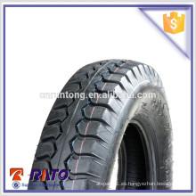 Neumático airless vendedor caliente de la motocicleta 5.00-12 en China