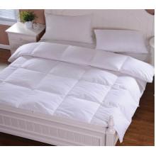Оптовая полиэфира microfiber заполняя белые вставки одеяло Твин/полный/Королева/двуспальная кровать для гостиницы и домашнего использования