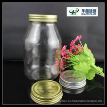 Venta caliente de Huajing 30oz tarro de cristal de caramelo