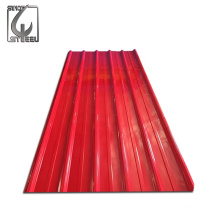 Top Quality Hot Sale Galvanized Sheet Metal Roofing Price Anti Rust Prepainted Zinc Roofing Sheet