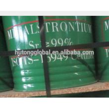 Metallic Strontium Sr 99%