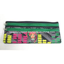 Insulated Full Colors Printing Neoprene Pencil Bag