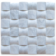 Modernes Mosaik des Marmors 3d für Innendekorationen