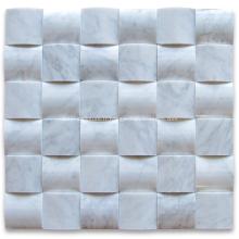 Mosaïque moderne en marbre 3d pour décorations d'intérieur
