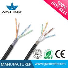 LSZH UV résistant PE Jacket Outdoor FTP Cable 4 * 2 * 0.50mm