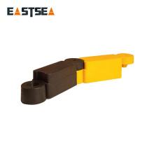 Cadena de seguridad vial de 400 mm de longitud Acabado separado fabricado en caucho Producto fabricado