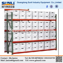 Cremalheira da carga do aço do armazenamento do dever médio do fornecedor de Dongguan