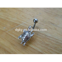 Stainless steel Fresh Trends turtle navel rings