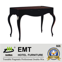 Rubber Solid Wood Coffee Table Furniture (EMT-CT01)