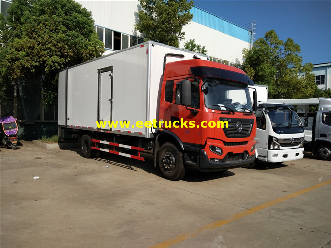 Dongfeng 10tons Frozen Food Delivery Trucks