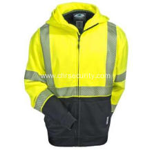Yellow Tech Double Thick Full Zip Sweatshirt