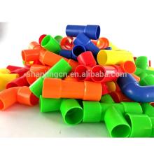 Ligações lógicas coloridas de alta qualidade, brinquedos populares para miúdos educacional, blocos do brinquedo