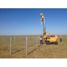 Machines d'installation de piles de pilotes minin post