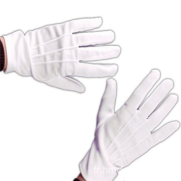 Gants uniformes Gants blancs
