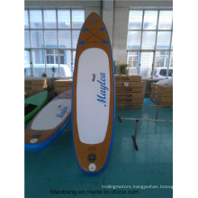 High Quality Wood Color Long Board Surfboard