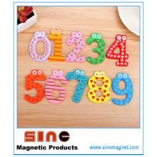 Деревянный холодильник Магнит образования Узнайте, милые игрушки