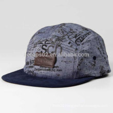 Custom-made 5 panels cap