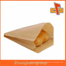 food packaging materials brown paper bag for greasy snack