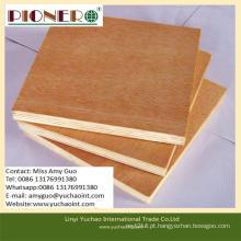 Espessura da madeira compensada comercial do nível superior da espessura 2.2mm-18mm para a decoração