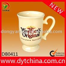 Fabrik direkt Großhandel 11oz glasierte Keramik Tee Kaffeetassen