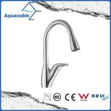 Pull out Kitchen Wash Brass Sink Faucet (AF8081-5SS)