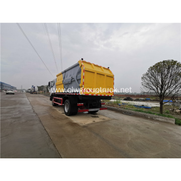 6cbm Rear Loaded Garbage Compactor Truck